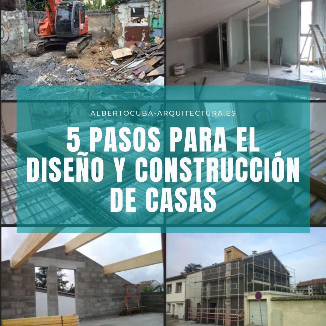 5 pasos para el diseño y la construcción de casas